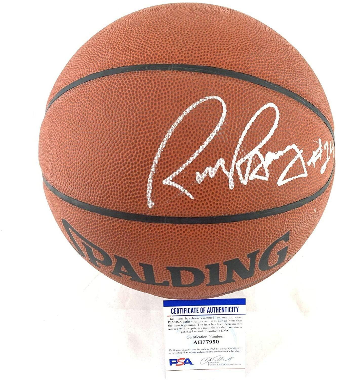 Rick Barry Signed Basketball - Spalding HOF - PSA/DNA Certified - Autographed Basketballs