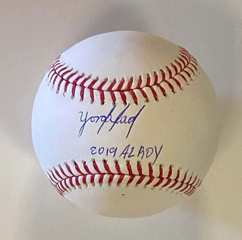Yordan Alvarez Autographed