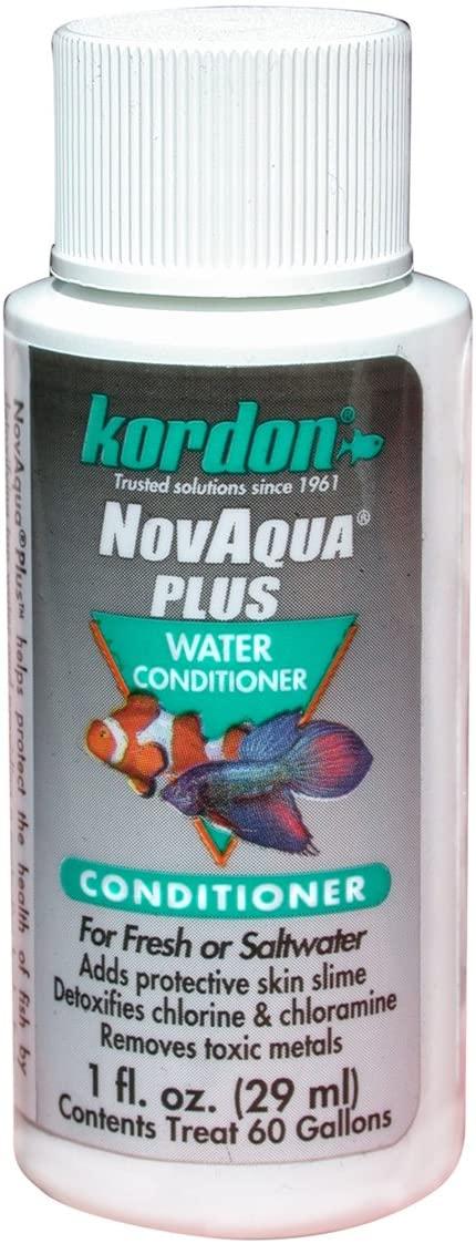 KORDON #33111 NovAqua Plus for Aquarium, 1-Ounce