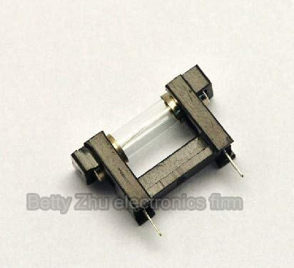 100pcs/lot fuse holder 5 20mm fuse holder Plug and Play installation fast open