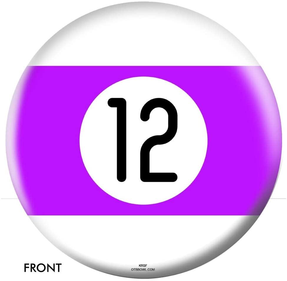OTB Billiard Bowling Ball- 12 Ball 10lbs