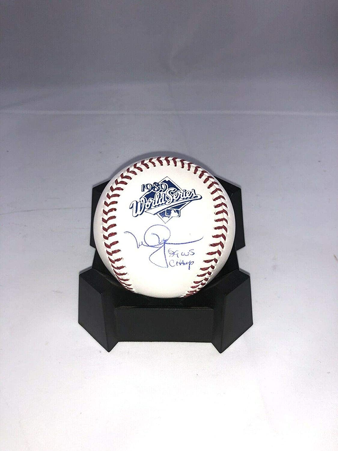 Mark McGwire Autographed Ball - A's 1989 World Series Holo W Ws Champs - Autographed Baseballs