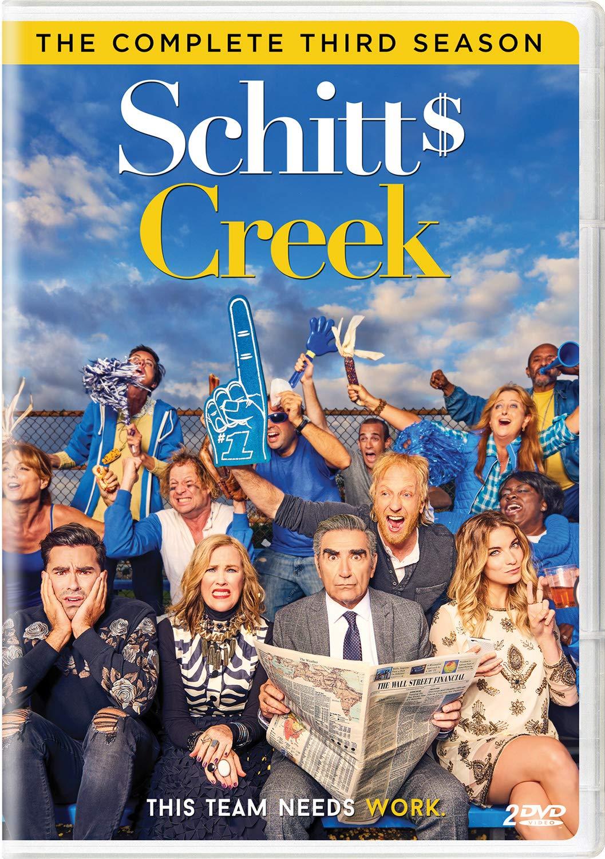 Eugene Levy Catherine O Hara Dan Schitt's Creek Season 3 DVD - Nintendo Wii; GameCube