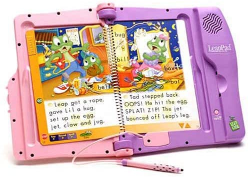 LeapFrog: LeapPad Learning System - Pink-Purple