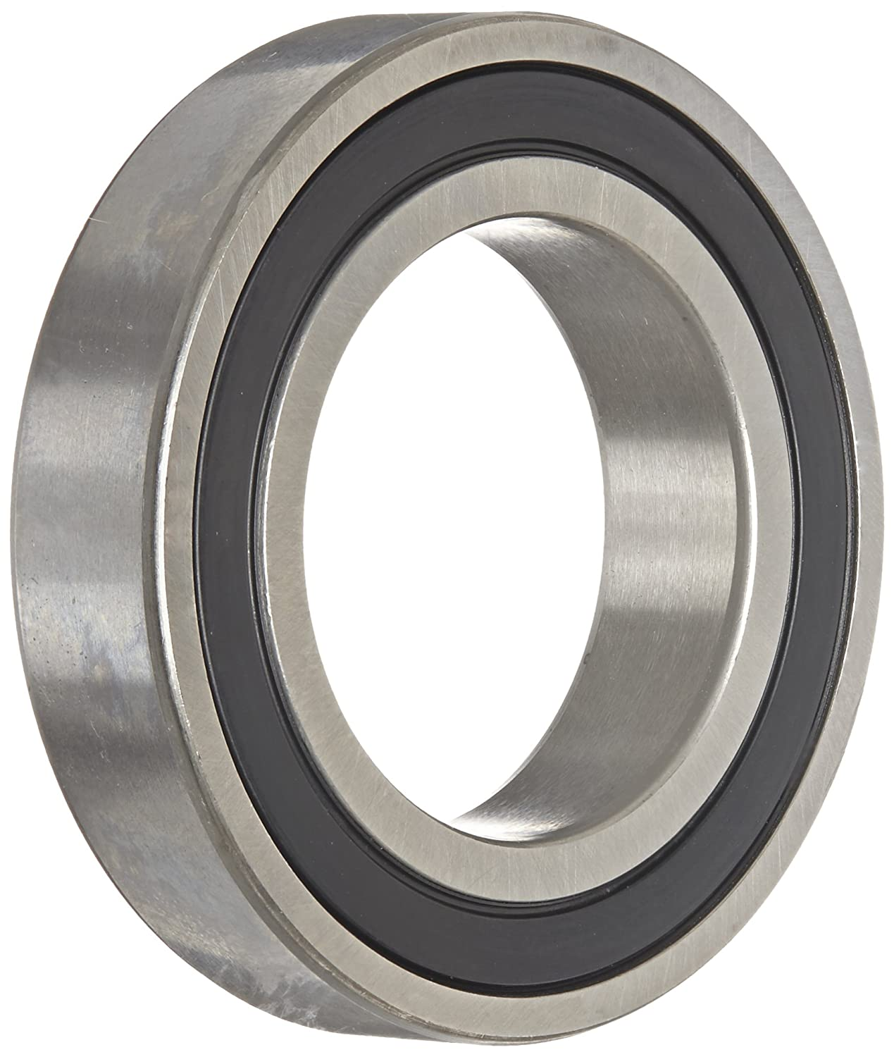 SKF 61805-2RS1 Deep Groove Ball Bearing, ABEC 1 Precision, Double Sealed, Standard Cage, Normal Clearance, 25mm Bore, 37mm OD, 7mm Width, 6540lbf Dynamic Load Capacity