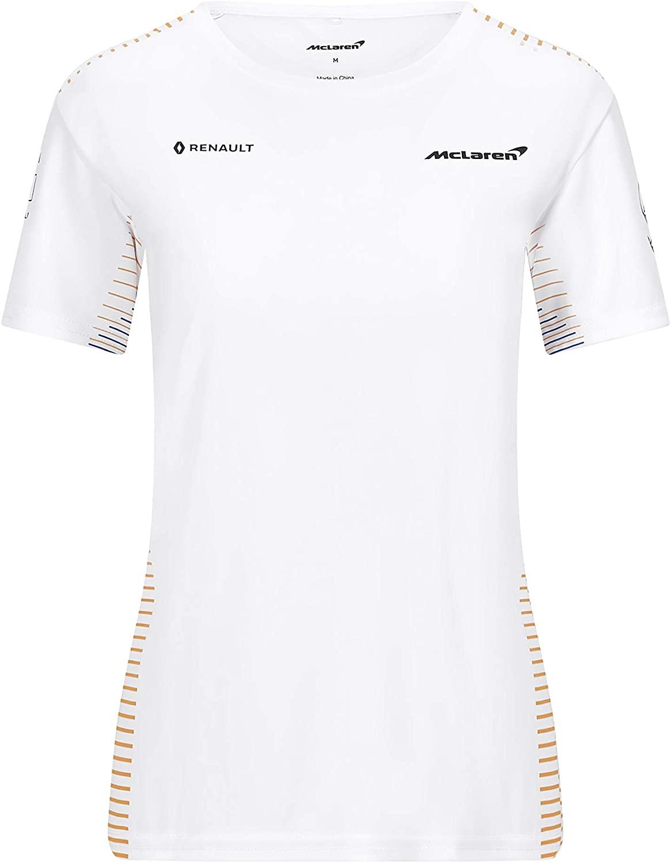 Formula 1 Women's 2020 Team T-Shirt McLaren Racing, White, Medium