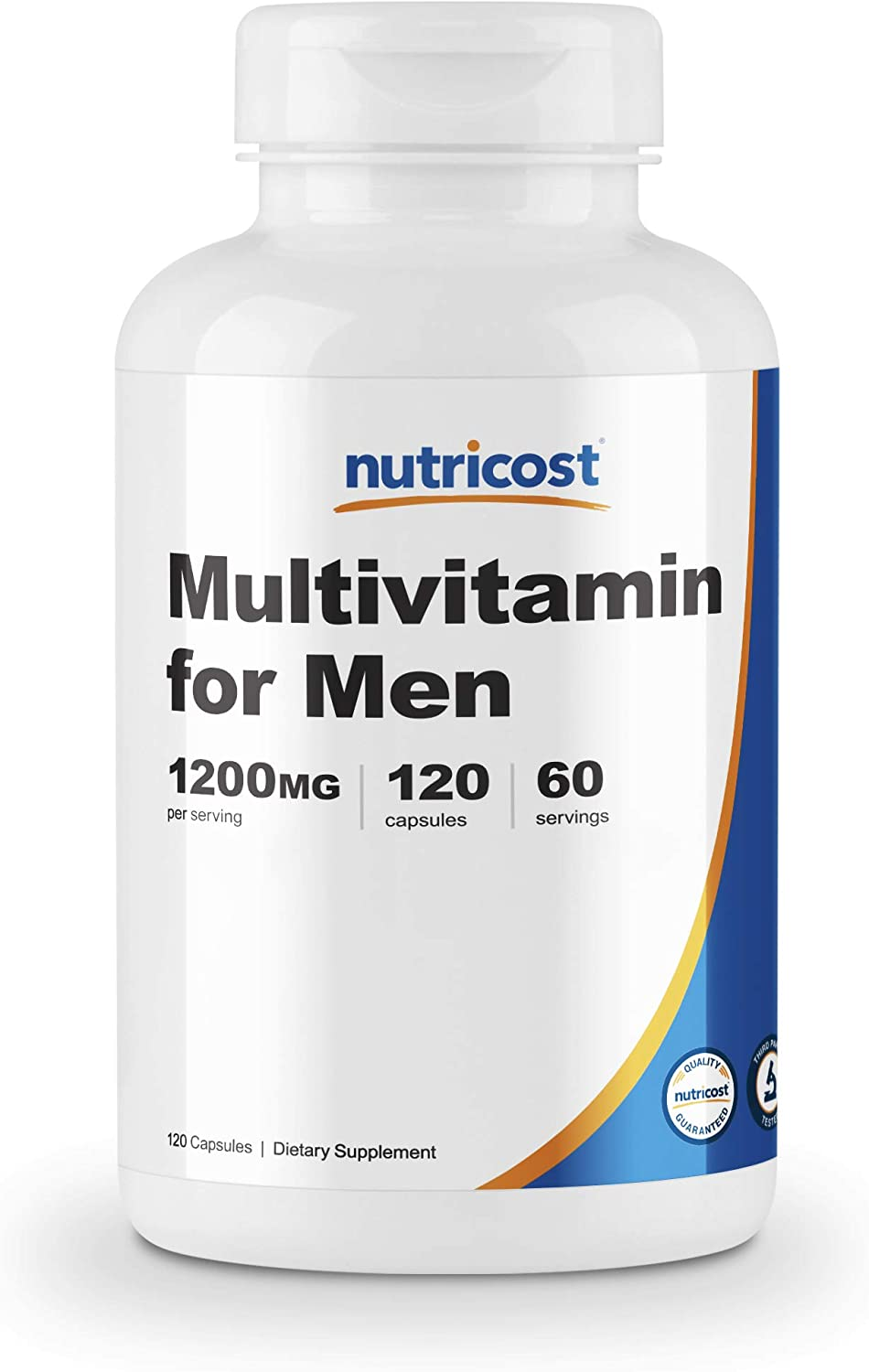 Nutricost Multivitamin for Men 120 Capsules - Vitamins and Minerals for The Healthy Man