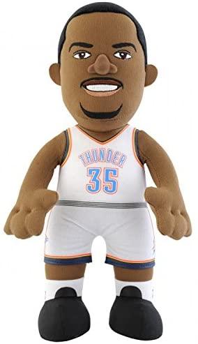 NBA Oklahoma City Thunder Kevin Durant Player Plush Doll, 10-Inch, White