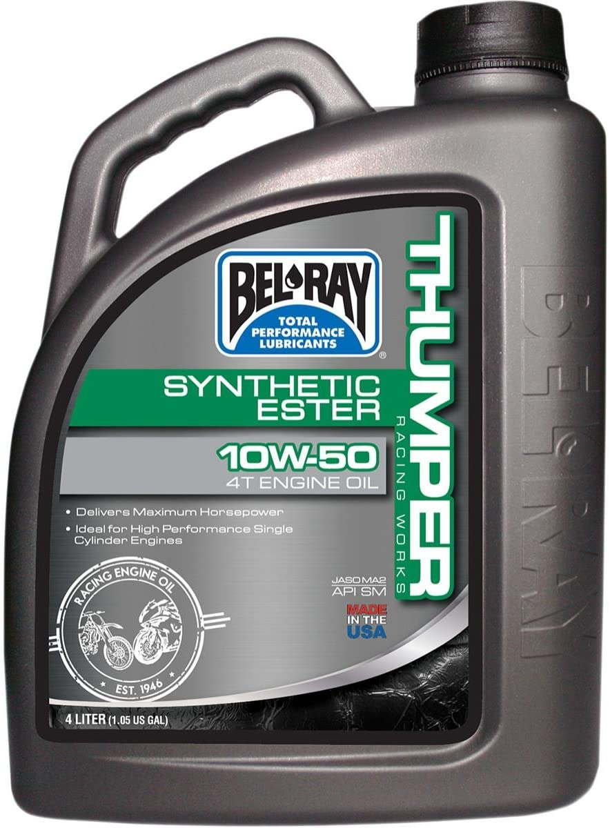 Bel-Ray Thumper Racing Works Full Synthetic Ester 4T Engine Oil - 10W50 - 4L. 99550-B4LW