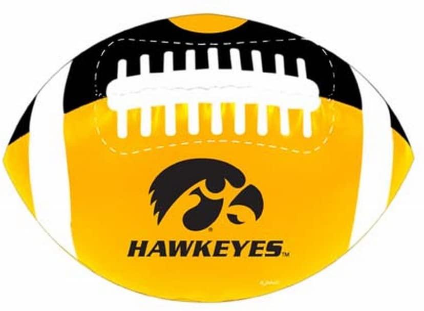 NCAA Iowa Hawkeyes PVC Football