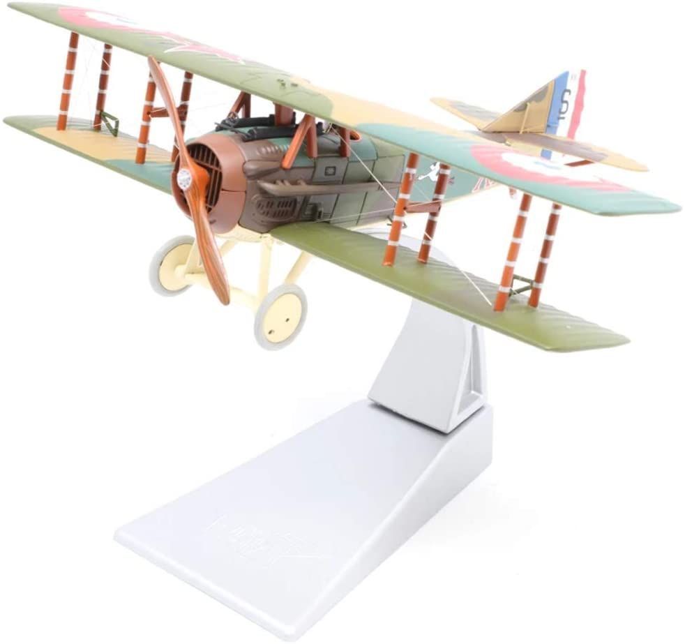 Corgi Diecast Spad XIII S7000, Rene Fonck, Escadrille 103 1:48 WWI Military Aircraft Display Model AA37908