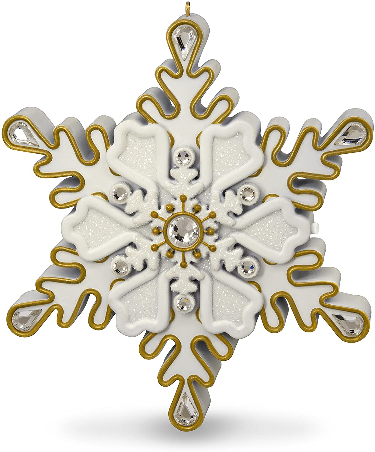 Hallmark Keepsake Christmas Ornament 2018 Year Dated, All I Want for Christmas Is You Mariah Carey Snowflake With Music
