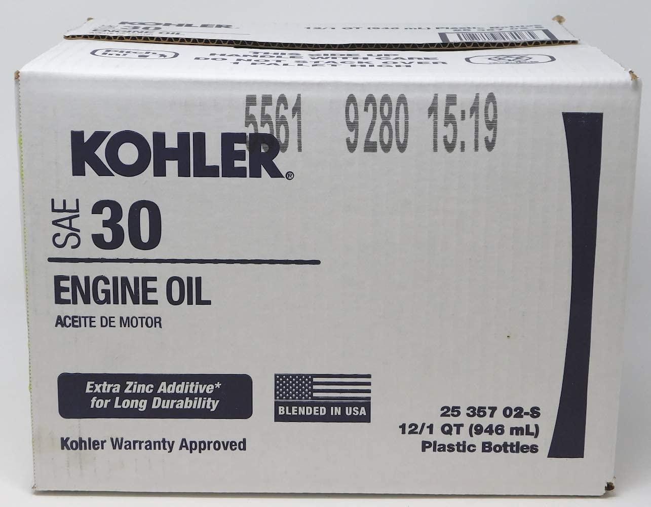 Kohler Case of Oil - Magnum 25 357 02-S