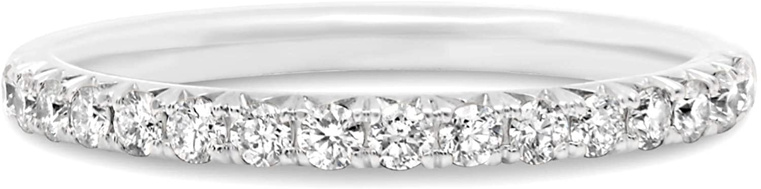 .37CT DIAMOND 14KT WHITE GOLD 3D CLASSIC ROUND SEMI MOUNT ENGAGEMENT RING