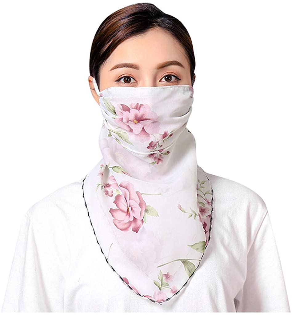 Face Headband Scarf,Scarf Headwrap Neckwarmer for Dust Outdoors Festivals Sports Shopping Hiking Riding