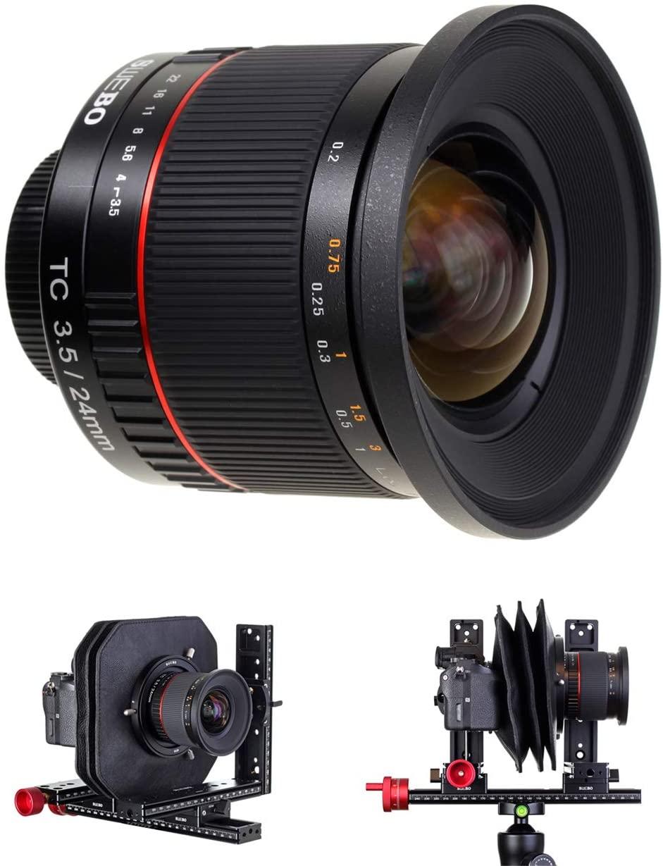 Swebo TC24 24mm f/3.5 Lens for Mini View Camera,Image Circle 80mm,Lens Mounts M39