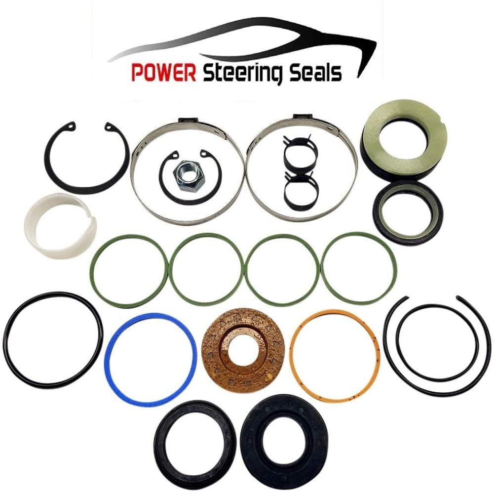 Power Steering Seals - Power Steering Rack and Pinion Seal Kit for Cadillac Eldorado