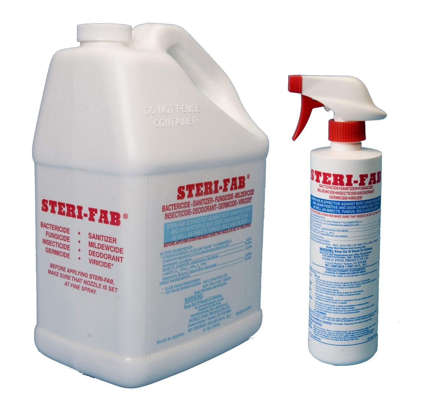 Steri-Fab Gallon and Pint Pack