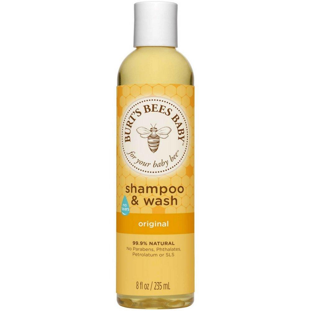 Burt's Bees Baby Bee Original Shampoo & Wash 8 oz (Pack of 6)