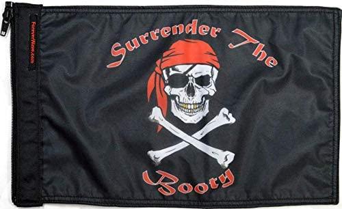 Forever Wave Surrender The Booty Flag