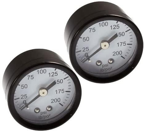 DeWalt D55155/D55152 Compressor (2 Pack) Replacement Gauge # A15699-2PK