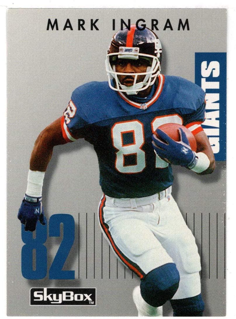 Mark Ingram - New York Giants (Football Card) 1992 Skybox Prime Time # 163 Mint