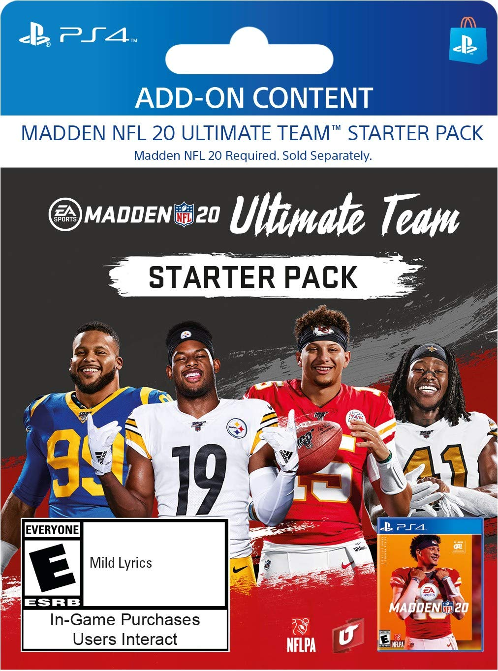 Madden NFL 20: Madden Ultimate Team Starter Pack - [PS4 Digital Code]