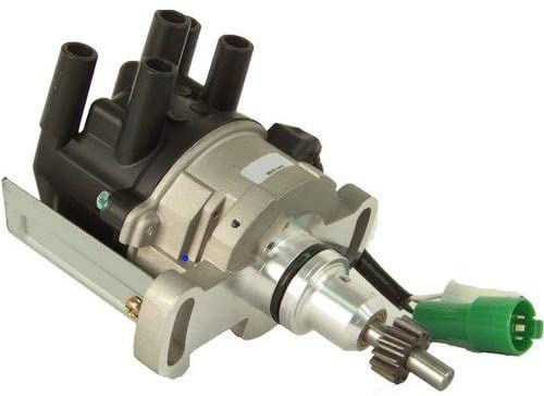 Rareelectrical NEW DISTRIBUTOR COMPATIBLE WITH TOYOTA COROLLA 1.6L 4AGELC 19100-16130 D9020 84-757 31-757 TY41
