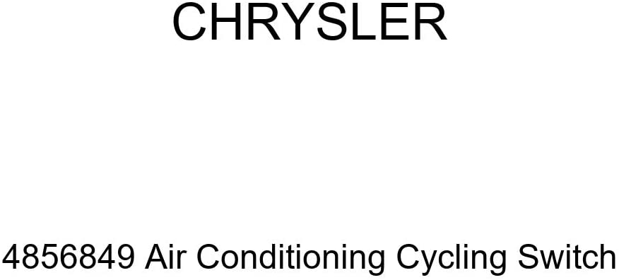 Genuine Chrysler 4856849 Air Conditioning Cycling Switch