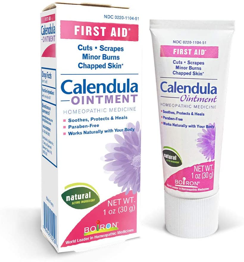 Boiron Calendula Ointment 1 Oz Homeopathic First Aid Ointment for Cuts, Scrapes, Minor Burns, and Chapped Skin