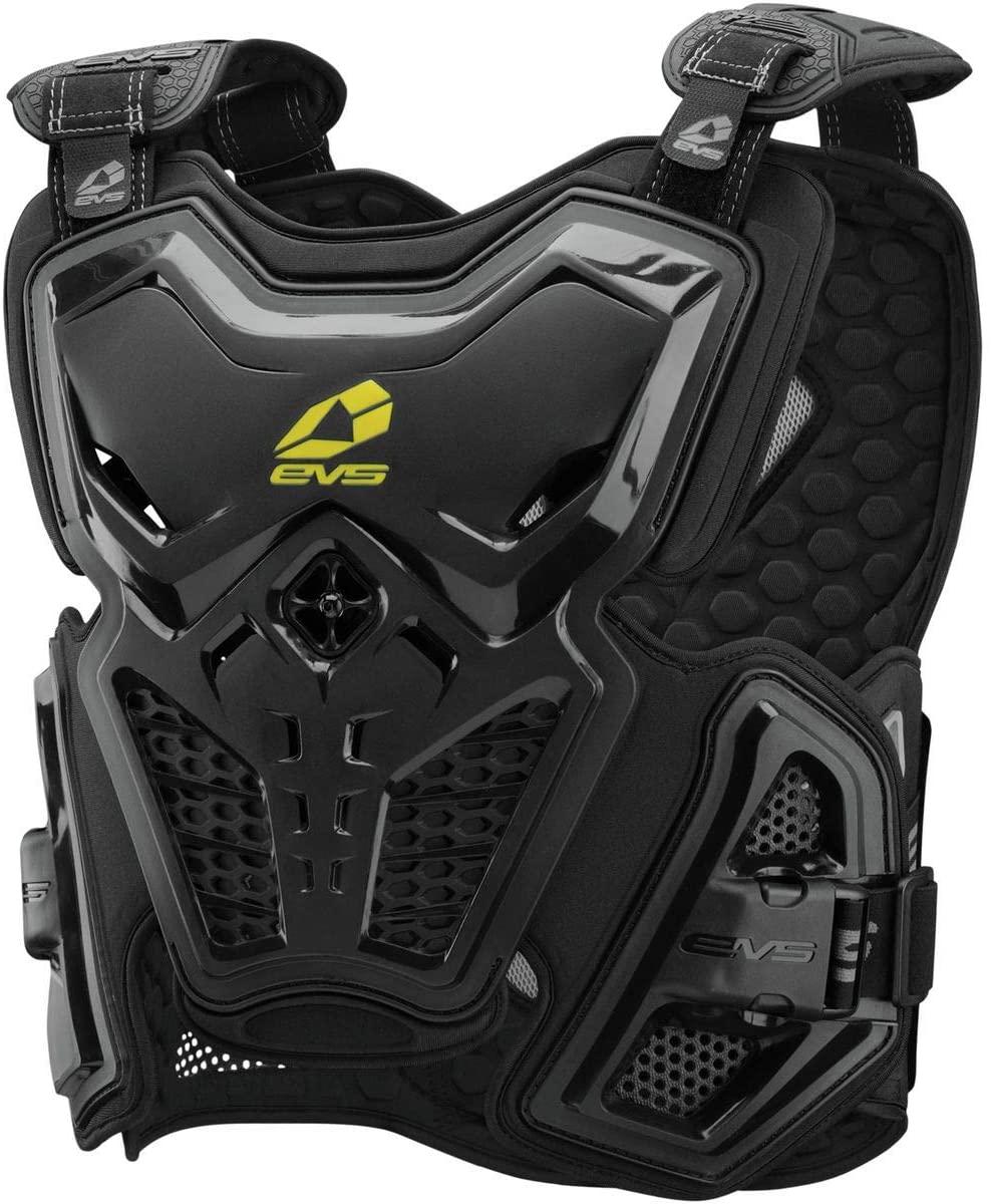 EVS Sports Men's F2 Roost Deflector (Black, Large)