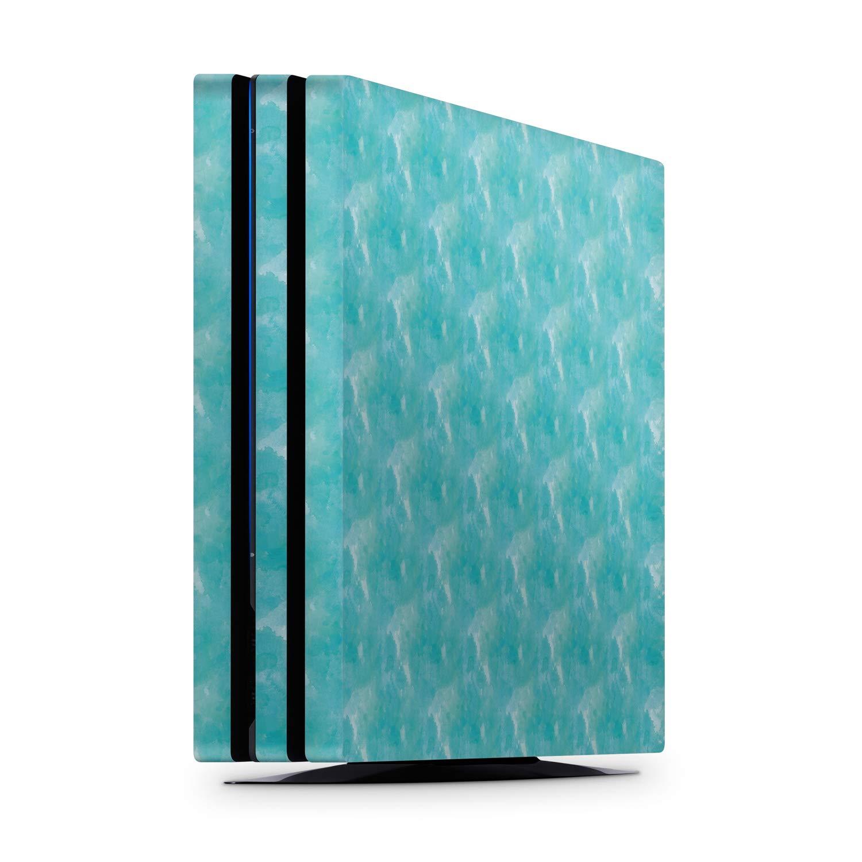 Turquoise Watercolour PS4 Pro Skin / Cover / Vinyl Wrap