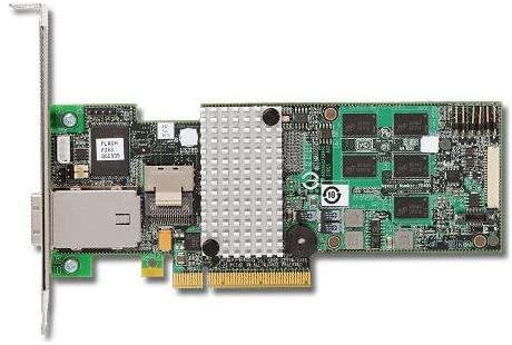 3ware 4-Port Int, 4-Port Ext, 6GB/S Sata+SAS, Pcie 2.0, 512MB; in The Box SAS 9