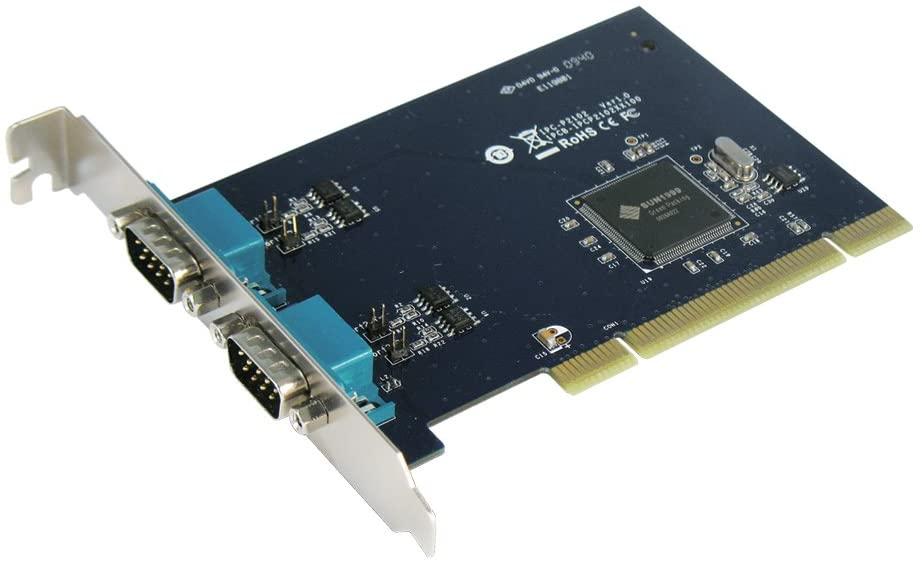 SUNIX SP 2-Port Auto-Switch RS-422/485 PCI Card (D89) (IPC-P2102)