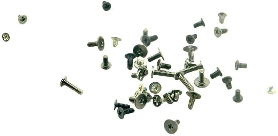 T-shin Full Set Screws Replacement Repair Parts with Bottom Pentalob Screws for ipad with Compact Protective PP Storage Box (ipad Mini/Mini 2/Mini 3/Mini 4)