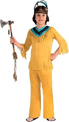 Forum Novelties Native American Warrior Brave Costume, Small