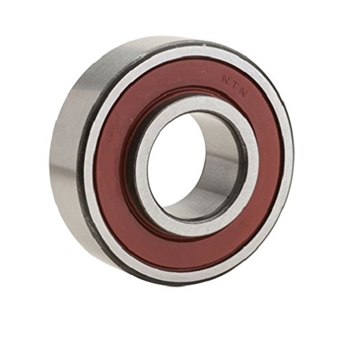 NTN Bearing 87505/2AS Single Row Radial Ball Bearing, Shell Alvania #2 Grease, 25 mm Bore ID, 52 mm OD, 15.875 mm Width, Single Shield and Seal