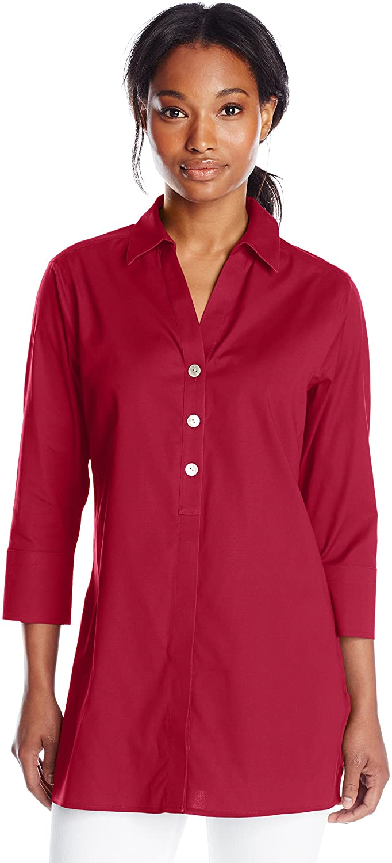 Foxcroft Women's Pamela Essential Non-Iron Stretch Blouse