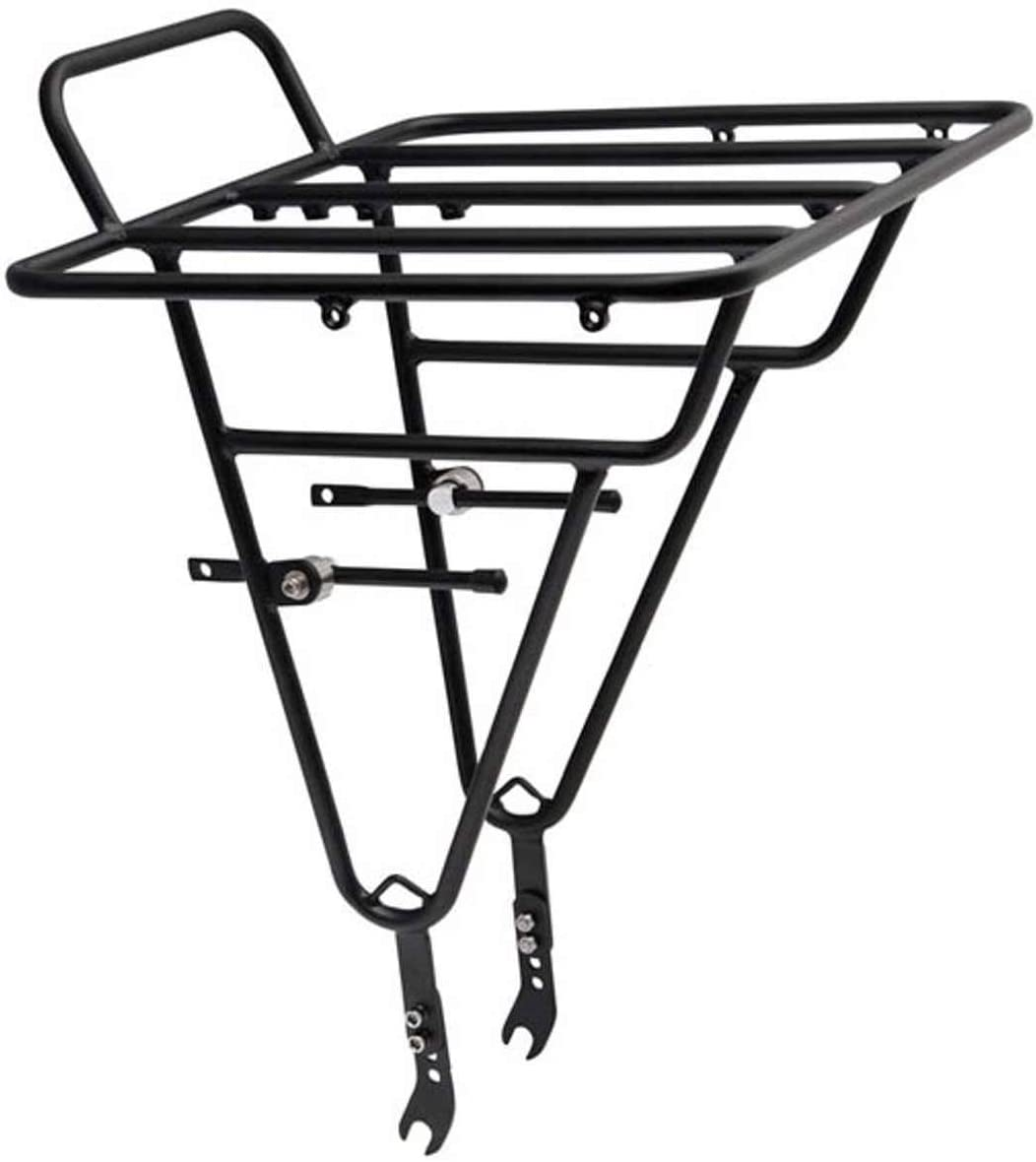 Soma Fabrications Porteur Deluxe Front Rack Black