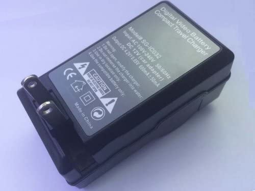 Portable AC CGA-S006 Battery Charger for PANASONIC DMW-BMA7 Lumix DMC-FZ7 DMC-FZ8 DMC-FZ18