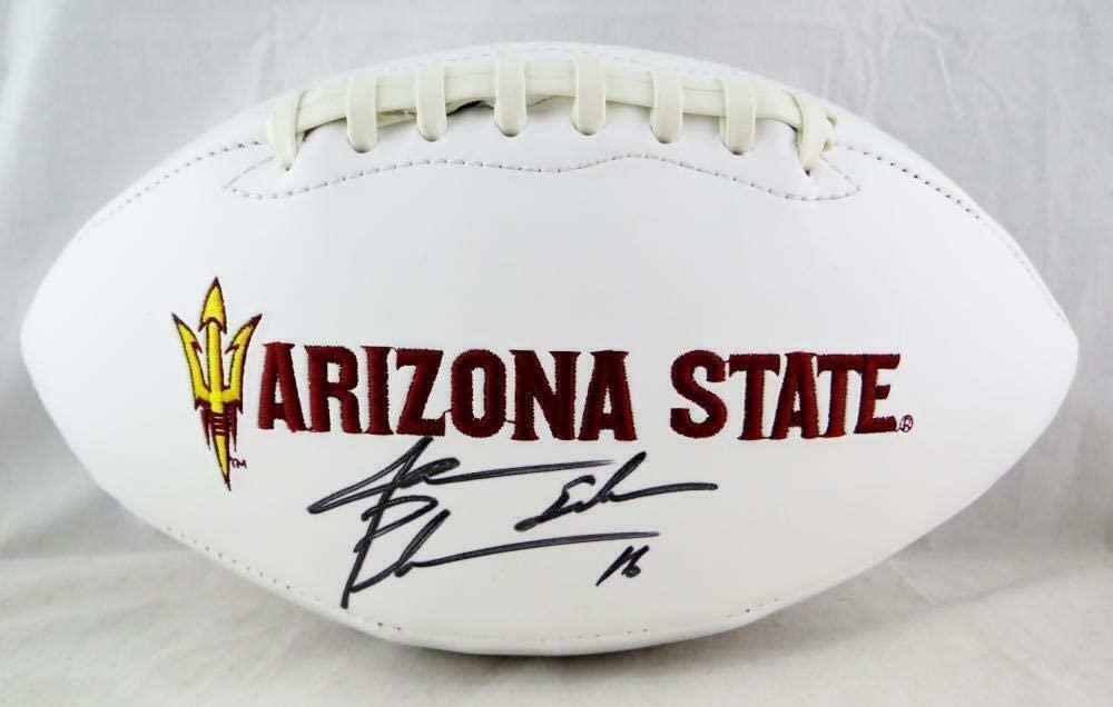 Jake Plummer Autographed Ball - State Logo Beckett *Black - Beckett Authentication - Autographed College Footballs
