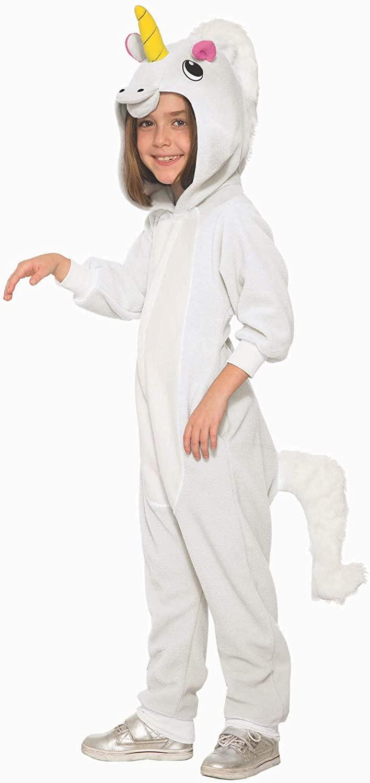 Girl's Unicorn Jumpsuit Costume