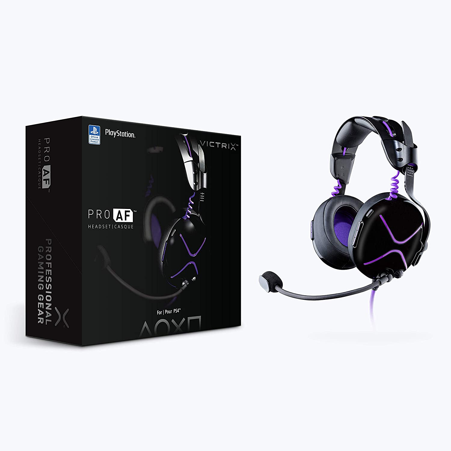 Victrix Pro AF Passive Wired Gaming Headset with Cooling Mechanism for PS4, 051-095-NA