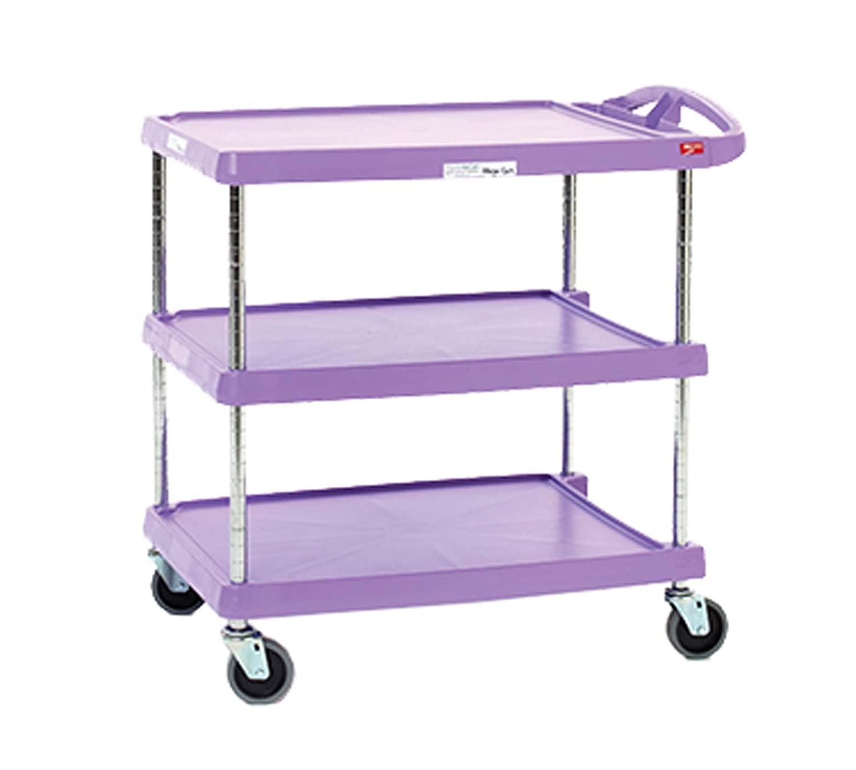 InterMetro Industries MY2030-34AP myCart Series 3-Shelf Utility Cart