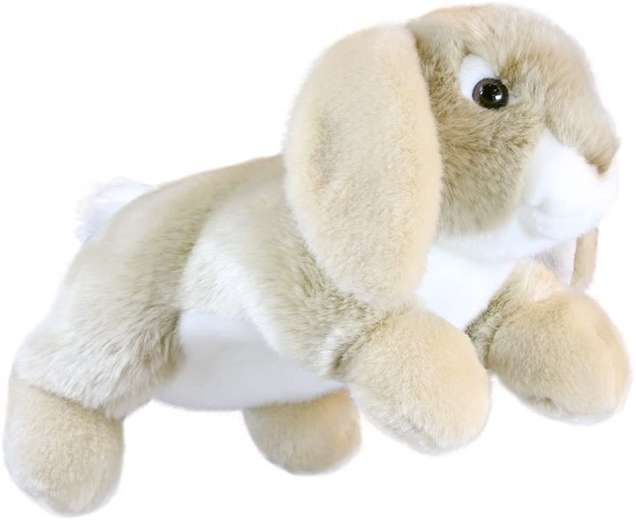 The Puppet Company Full-Bodied Animal Hand Puppets Rabbit (Lop-Eared)
