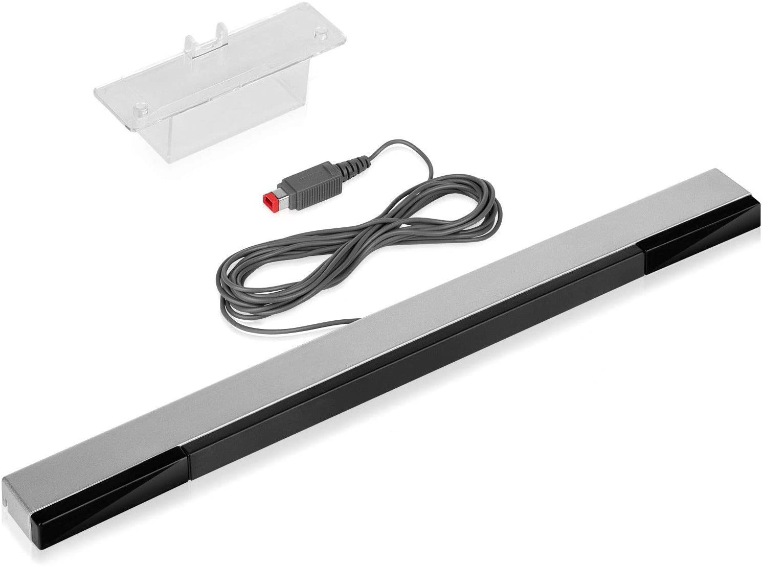 WII Sensor Bar,WII U Sensor Bar,Wired Infrared IR Ray Motion Sensor Bar Compatible Nintendo Wii and Wii U Console