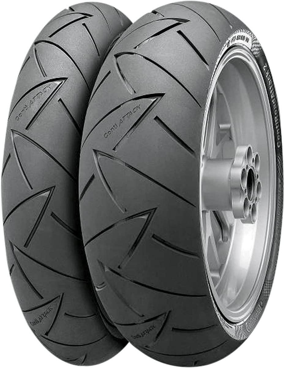 Conti Road Attack2-Hyper Sport Touring Radial Rear Tire - 190/50ZR-17