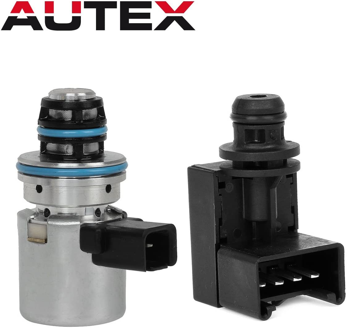 AUTEX A500 A518 46RE 47RE 46RH Governor Pressure Sensor Transducer & Solenoid Kit