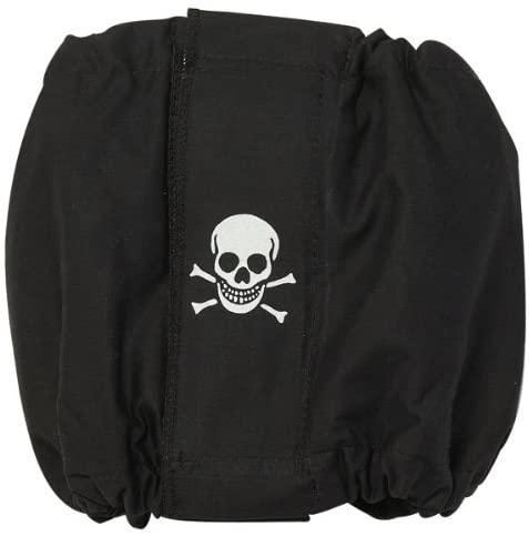 ClearQuest Male K-9 Wrap - Black Skull