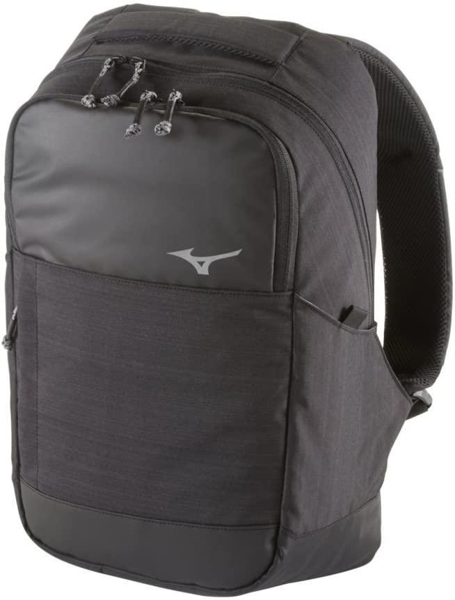 Mizuno Front Office Backpack, Black